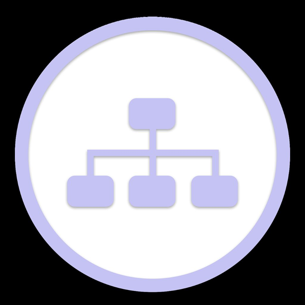 icon, organization, business